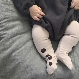Autumn Baby Cottonsock Big Pp Pantyhose Boys And Girls Lovely Dots Elastic Pants Tights Infant Pantyhose Baby Pantyhose