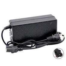 60V inteligentna ładowarka akumulatorów litowych do 16S 60V 12AH 20AH elektryczny rower skuter taczki wyjście DC 67.2V 2A T złącze