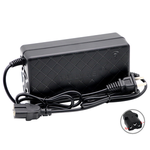 Smart lithium battery Charger 16S 17S 60V 20AH For Electric Bike Bicycle Scooters Output DC 67.2V 71.4V 2A T Connector(China)