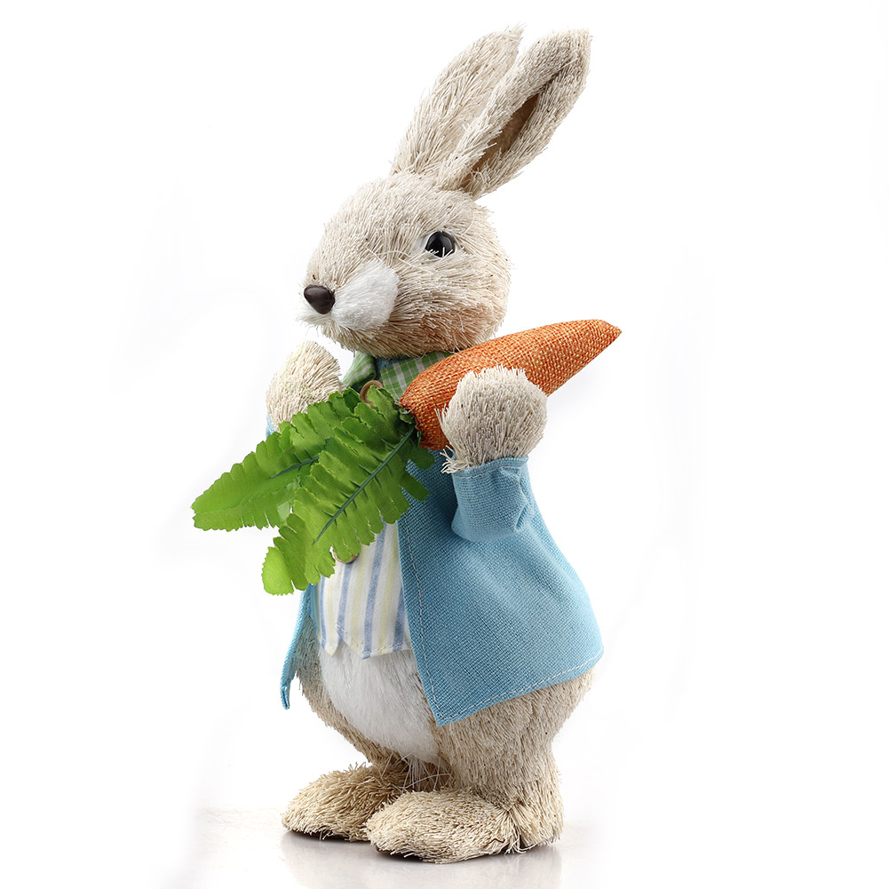 25/33cm Simulation Easter Rabbit For Home Window Party Decor Ornament Photography Props Decorations Wedding Shooting Props Mar16