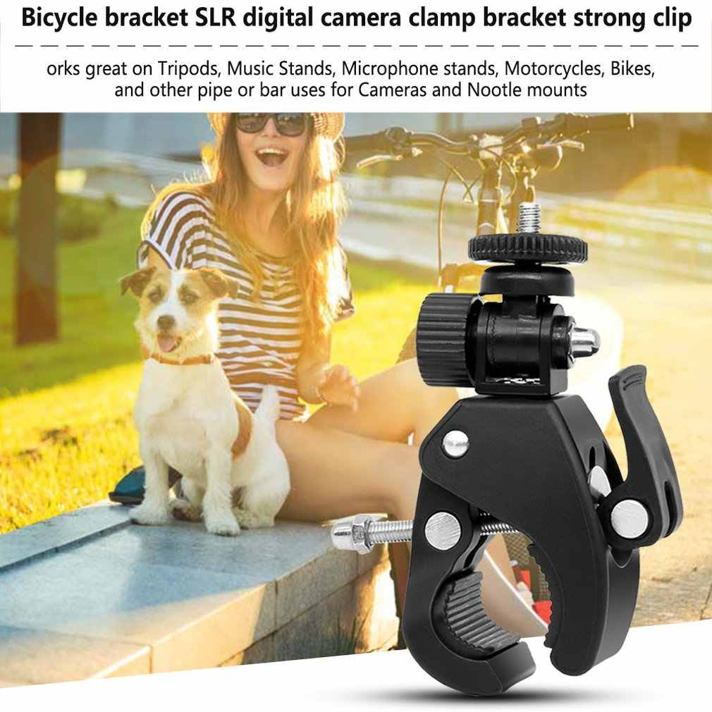 Camera Super Klem Quick Release Pijp Bar Clamp Bike Clamp Statief Hoofd voor Licht Camera Monitor Camcorder Accessoires