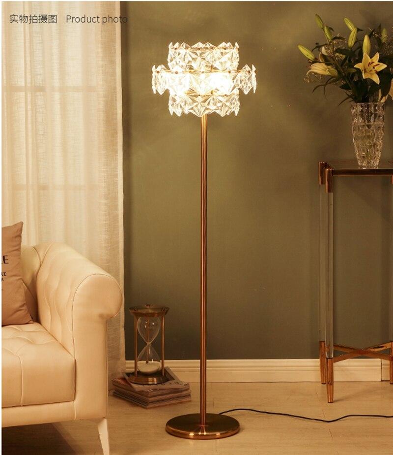 Crystal Floor Lamp Modern Design