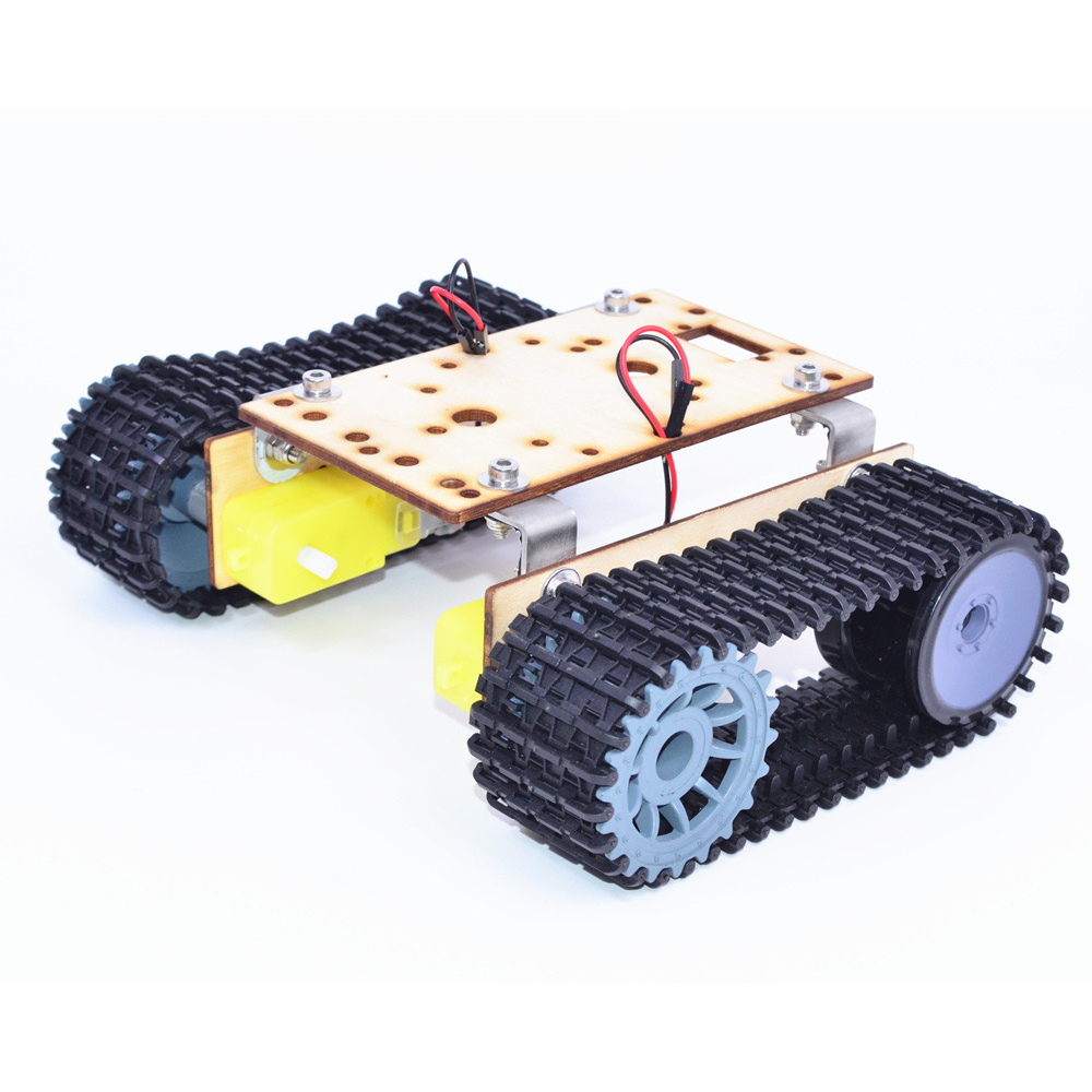 Cheapest Smart Robot Tank Chassis Tracked Car Caterpillar Crawler Platform With TT Motor For Arduino DIY Robot Toy Part