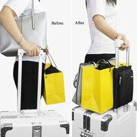 Gepäck Feste Tasche Strap Verpackung Gepäck Koffer Festen Gürtel Reise Tragbare Gepäck Fixiert Verpackung Organizer Reise Zubehör