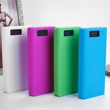 8*18650 battery Portable Power Bank Case Kit Digital Display Welding-Free 8*18650 Mobile Power Box Kit Portable Battery Shell