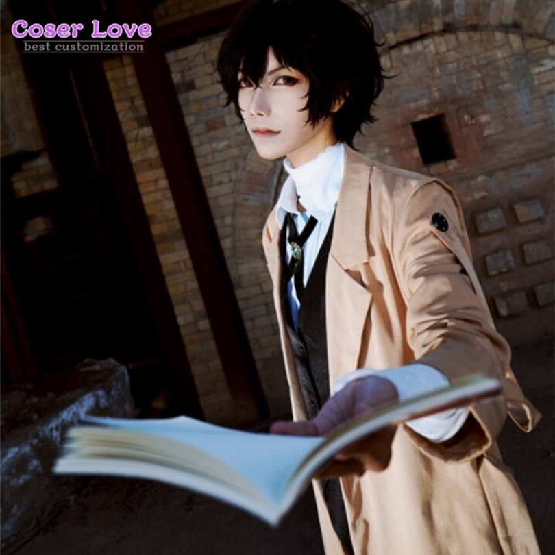 Bungo Stray Dogs Dazai Osamu Cosplay Costume Carnaval Halloween Party Christmas Costume