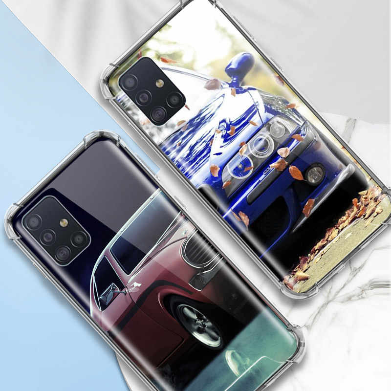 Xe Thể Thao Case Dành Cho Samsung Galaxy Samsung Galaxy A71 A51 M31 A41 A31 A21 A11 A01 M51 M21 M11 Túi Khí Chống nhà Ở Vỏ Điện Thoại