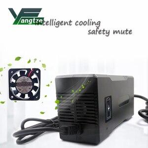 Image 5 - Yangtze cargador de batería de 67,2 V 3A para batería de litio de 60V 3A, alimentador de energía de bicicleta eléctrica, herramienta para refrigeradores y altavoces