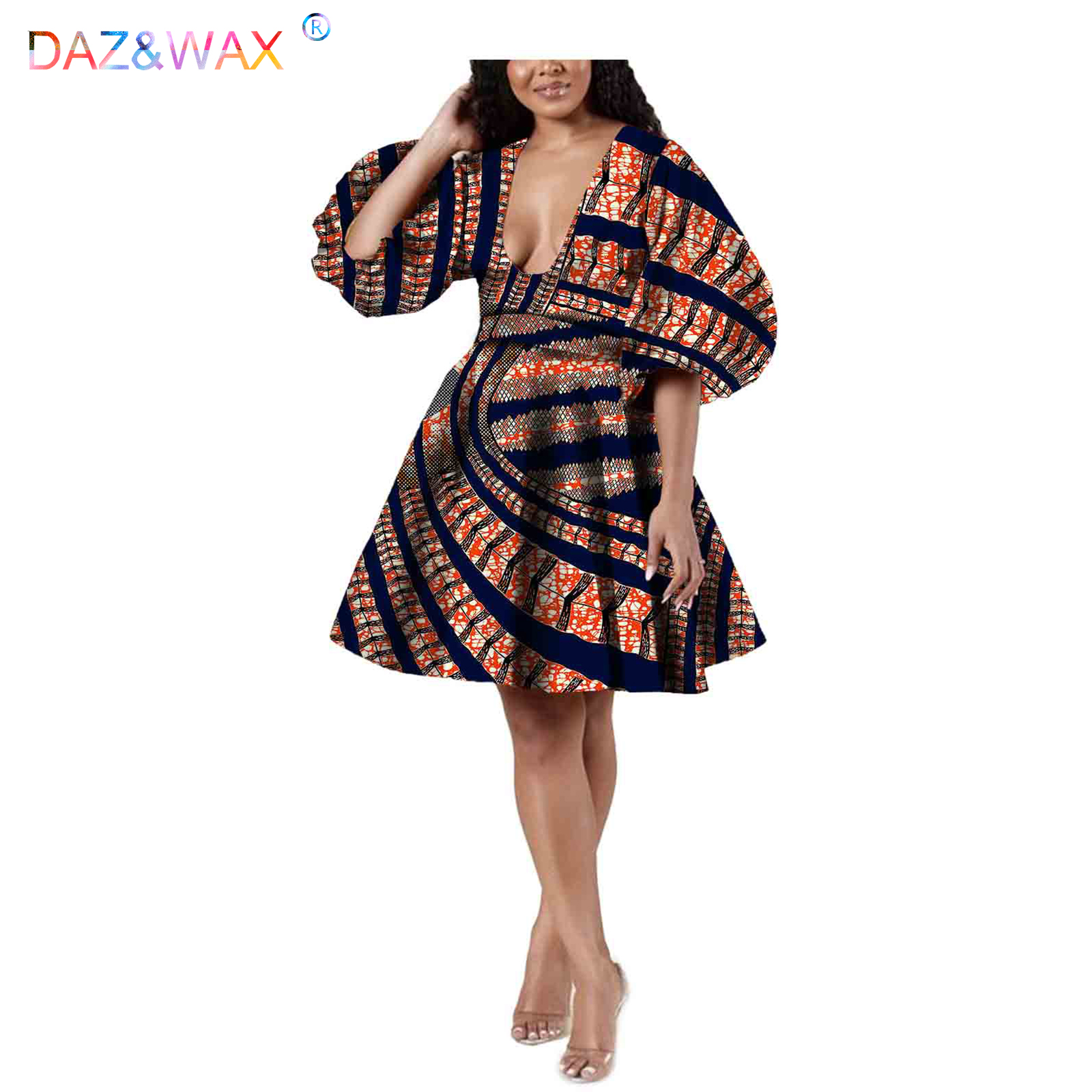 Africano maxi vestidos de festa para as