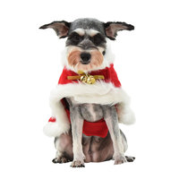 Pet Dog Christmas Clothes Winter Soft Warm Christmas Coat Costume Pet Cat Clothing Jacket Coat Pets Costume