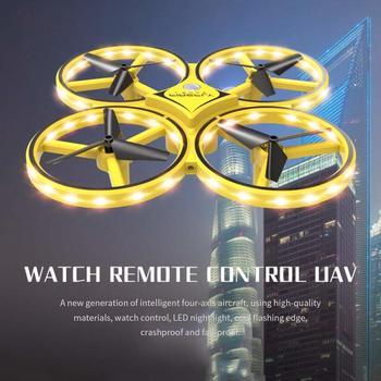 Mini Quad Drone | Zhenwei Mini Drone Watch RC Quad-copter Flyer Hold Infrared Sensor Control Mini RC Drones Gift For Kids Boys