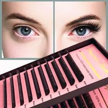 Lash-Supplies Eyelash-Extension Individual 12-Lines Soft-Mink Natural Silk HPNESS Deep-Matt