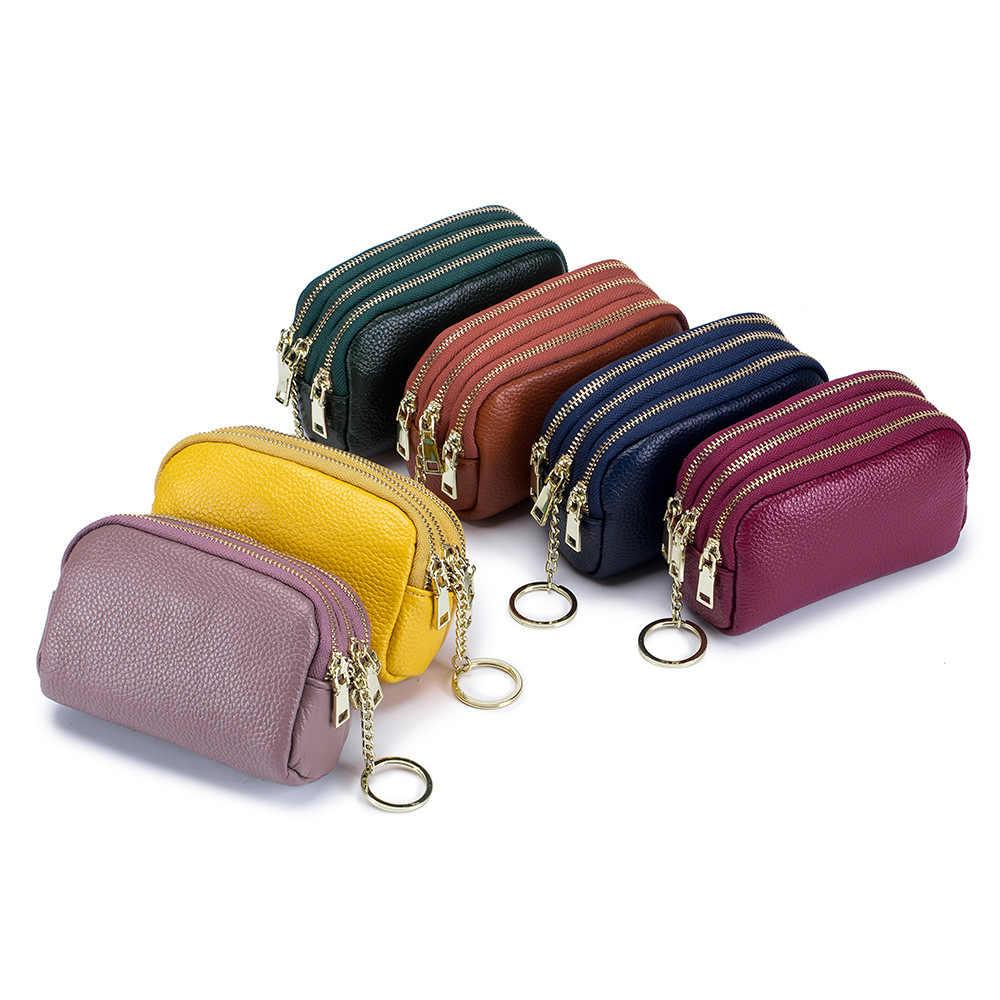 Cuir Veritable Mini Porte-monnaie münzbörse Portefeuille Porte monnaie petit sac münzbeutel