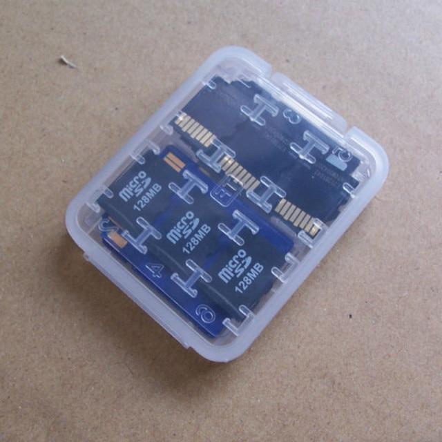 1 PC Hard Micro SD SDHC TF MS Memory Card Storage Box Protector Holder Hard Case Memory Card Storage Box 1