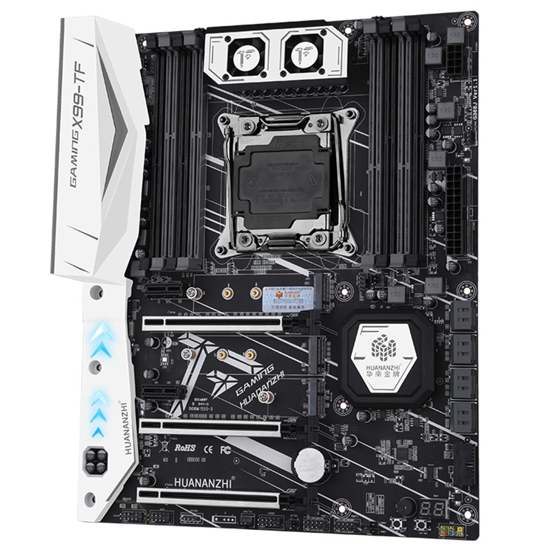 HUANANZHI X99-TF Motherboard With Dual M.2 NVME Slot Support Both DDR3 And DDR4 LGA2011-3 And LGA 2011