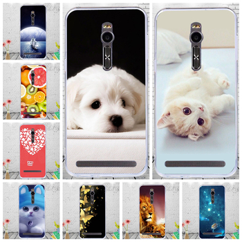 Cute Cartoon Animal Soft Silicone Case For Asus ZenFone 2 ZE551ML ZE550ML Laser ZE500KL ZE500KG ZE550KL ZE551KL ZE601KL Cover image