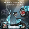 Smart Electric Motorcycle High Power Moto Electrica Electric Scooter For Adults Electric Light Motor Scooter Electric Moped 3
