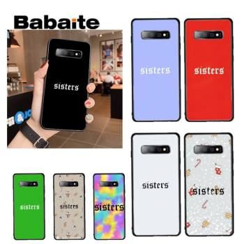 Babaite sisters James Charles Phone Case coque for Samsung GALAXY S6 Edge S7 S7 plus s20 s10 s20 ultra s10plus Edge S8 S9 image