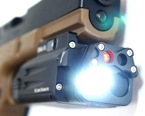 ir ponteiro laser vermelho levou lanterna arma
