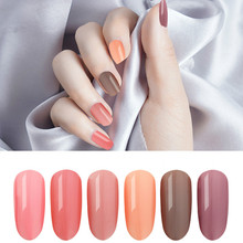2019 new popular color jelly plastic nude transparent health red nail polish shop