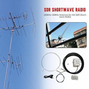 Image 5 - MLA 30 loop antenna Active low noise MW SW balcony erection antenna 100kHz   30MHz For FM HAM Shortwave radio
