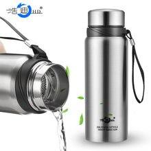 Cinta de copo reta de negócios de grande capacidade com cobertura simples 304 de aço inoxidável isolado copo de água 688