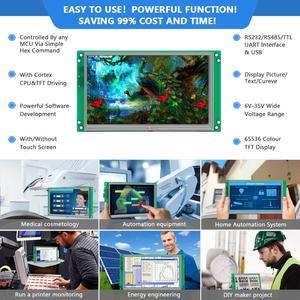 Image 5 - Nueva placa de control LCD cuadrada de 10,1 pulgadas con USB/RS485