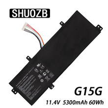 SHUOZB akumulator do laptopa G15G dla ThundeRobot 911 targa T6A T6C T5TB T6D do GIGABYTE SabrePro 15-W8 dla MACHENIKE F117-S(China)