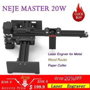 NEJE Master 20W CNC Laser Engr