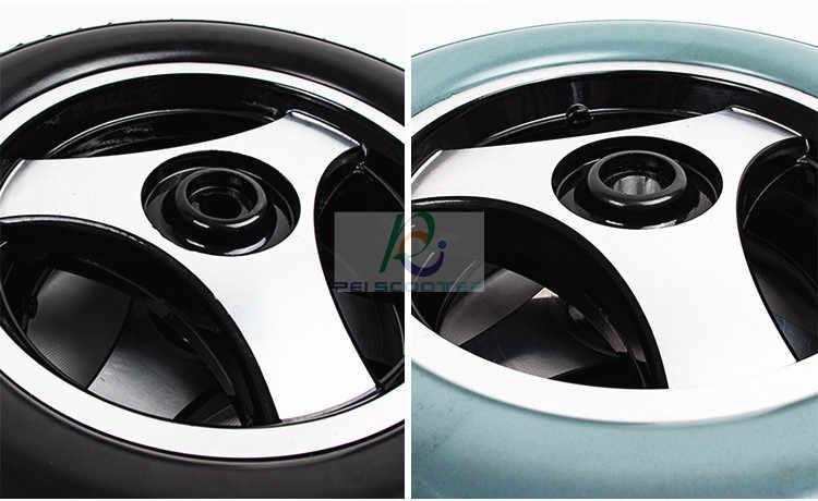 Roue de moyeu de pneu solide d'alliage d'aluminium de 12 pouces, roue d'entraînement de moteur pour le phub-12ntb de fauteuil roulant
