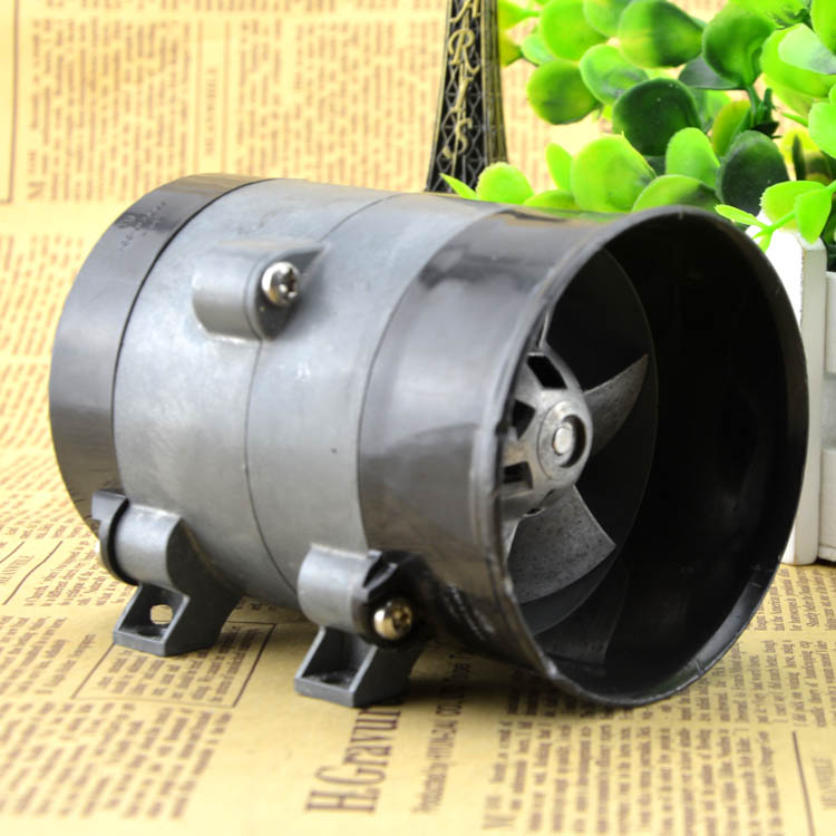 SXDOOL Car Auto High Speed Electric Turbine Power Turbo Charger Tan Boost Air Intake Fan 16.5A Extremely Powerful Fan