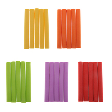 5Pcs High Density EVA Carp Fishing Foam Sticks Zig Aligners Floating Pop-ups Baits Making Materials 7cm Carp Fishing Accessories цена 2017