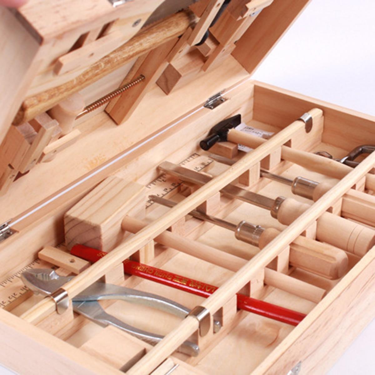 Gestão de manutenção da criança toolbox brinquedo