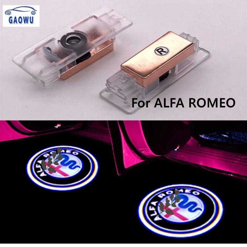 2x Alfa Romeo Nero /& Bianco 11mm PORTACHIAVI ADESIVO Badge Emblema Logo 159 MITO GT