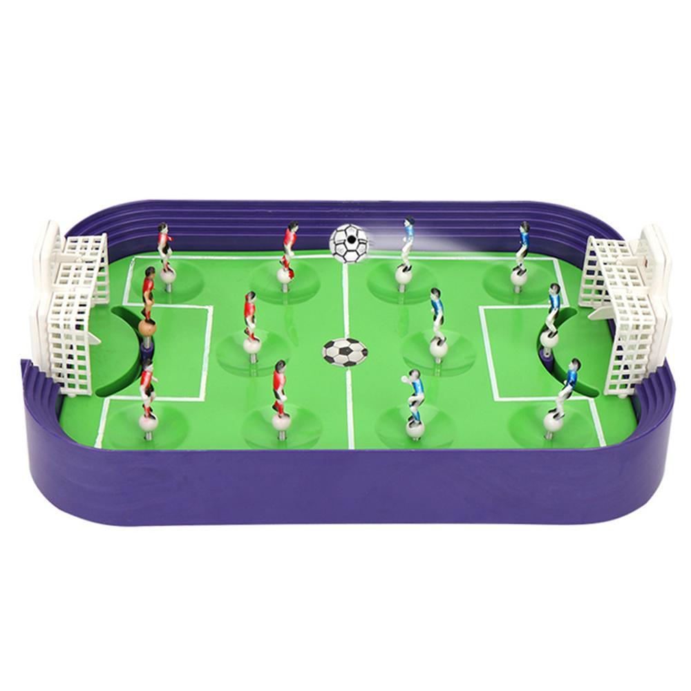 Mini Table Football Board Game Desktop Soccer Field Model Building Blocks