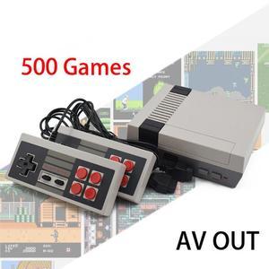 Built-In 500/620 Games Mini TV