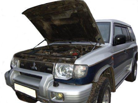 Для Mitsubishi Pajero 2 V20 NH NJ NL Shogun 1990-2000 передний капот модифицирует газовые стойки, поддерживающий амортизатор удара