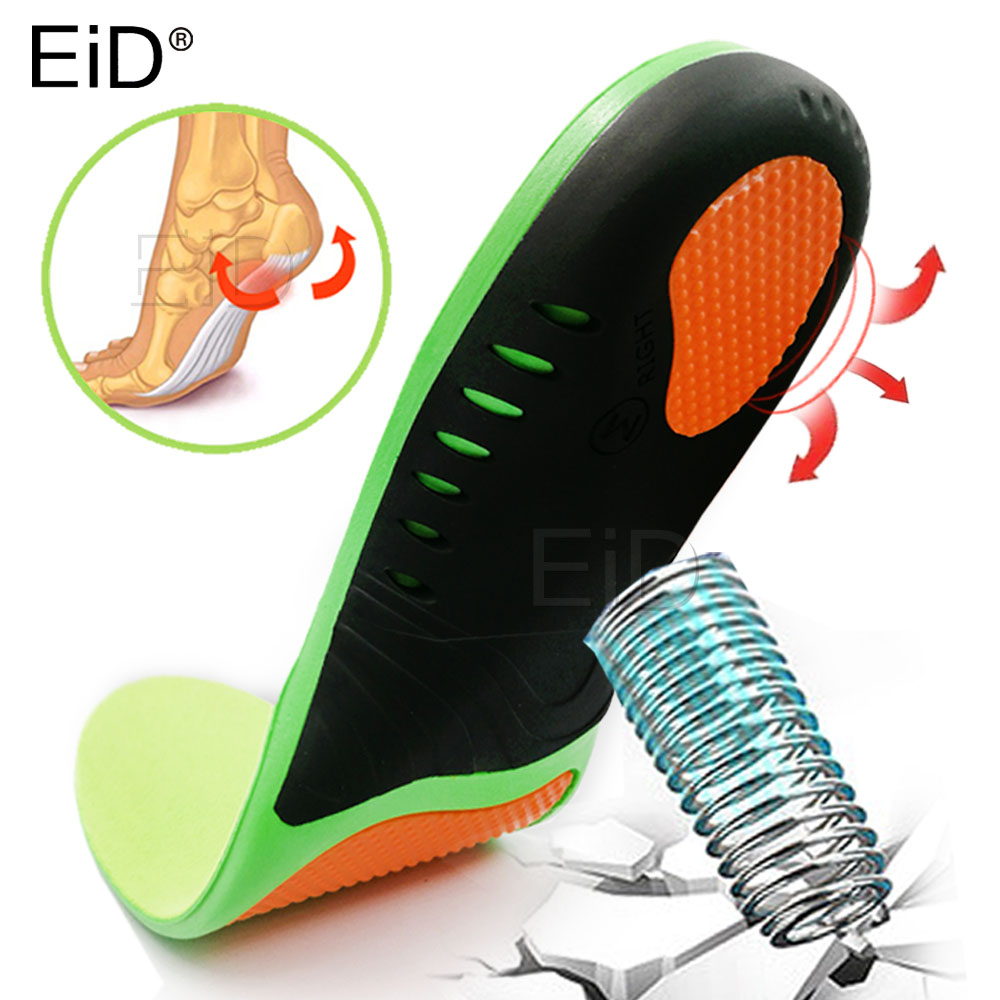 EiD High Quality EVA Orthotic Insole For Flat Feet Arch Support Orthopedic Insole For Men Women Shoe Pad Shoes Insert Shoes Sole