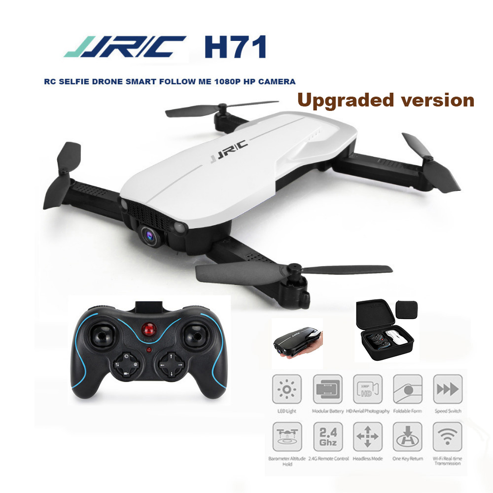 JJRC H71 RC Helicopters Drone GPS RTF WIFI 4K HP Camera Optical Flow Positioning Foldable RC Quadcopters Auto-Follow Kids Toys