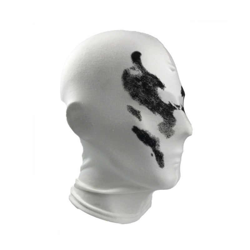 Maschera Guardiano Rorschach Copricapo Maschera Cosplay Stampa Digitale Della Novità Copricapo Cotone