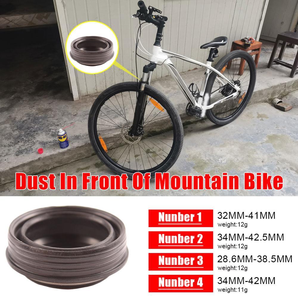 1 шт. велосипедная передняя вилка Пыль уплотнение, маленького размера, круглой формы с диаметром 32 мм-41 мм Уплотнение & кольцо из губки для «Л...