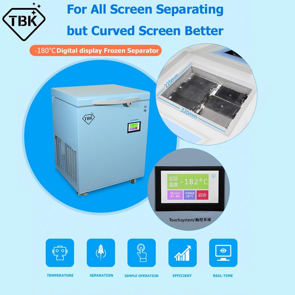TBK-598 LCD Freezing Machine/LCD Touch Screen Frozen Separating Machine 4
