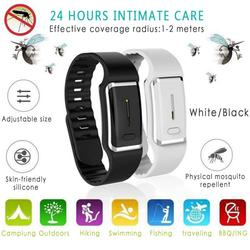 HOT SEELING Ultrasound Mosquito Repellent Bracelet Electronic Bionic Wave Charging Anti mosquito Pest Control Wristband