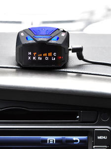 Radar-Detector Vehicle Mobile-Speed Early-Warning Stationary 16-Band 360-Degrees Voice-Prompts