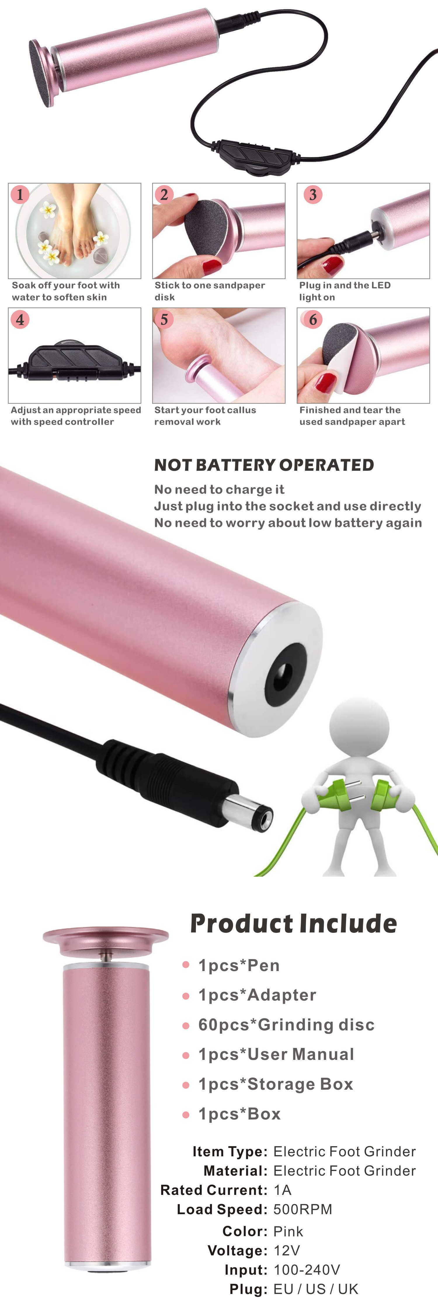 Electric Callus Remover