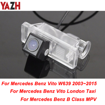 HD CCD Car Reverse Backup Camera For Mercedes Benz B Class MPV Vito Class 2003- 2015 GPS Rear View Camera Parking Night Vision image