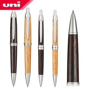 Image 1 - ワンピース日本ユニ純粋な麦芽ボールペン0.7ミリメートルオーク材天然またはダークブラウン色SS 1015