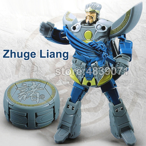 Image 5 - WJ LUBO Action Figure Toys Chess Chaft Romance of the Three Kingdoms Deformation Transformation