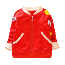 Kids Jacket Coat Spring Autumn Childrens Zipper Jackets Print Baby Girls Clothes Girl Tops Outwear Cute Kid Clothing 2-6T