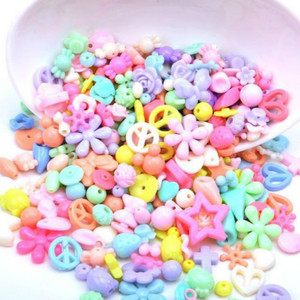 Image 1 - 500g Jewelry Necklace Bracelet Handmade String Bead DIY Girl Ornaments Educational Toy Children Toys